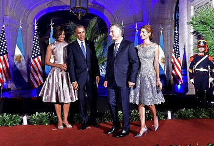 First Ladies Michelle Obama and Juliana Awada Finesse a Fashionable Alliance