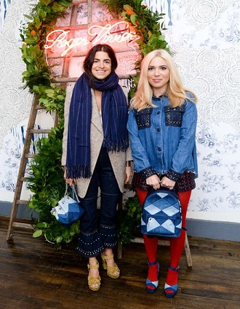 Good Jeans: Roger Vivier Celebrates Their Collaboration With Camille Seydoux