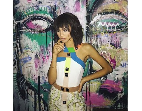 The Best Fashion Instagrams of the Week: Zendaya, Lena Dunham, and Kate Hudson!