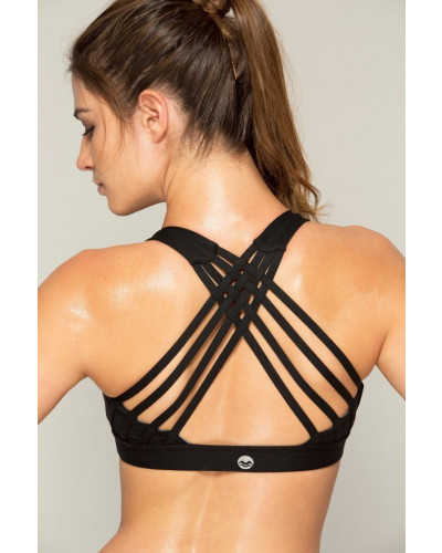 Women's Sports Bra Crisscross Strap Yoga Fitness Stretch Workout Top