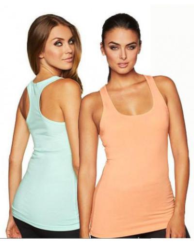 Womens Racerback gym tank top shirt wholesale fitness workout next level train