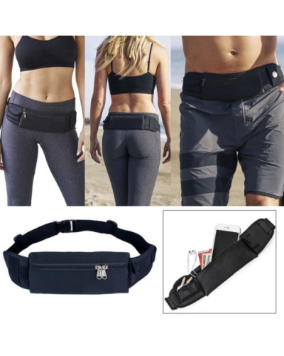 Waterproof Sports Fanny Pack Zip Waist Bag Belt Pouch Wallet for iPhone Samsung